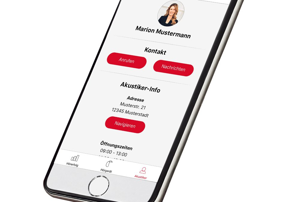 Jetzt neu bei uns – Die myHearing-App!